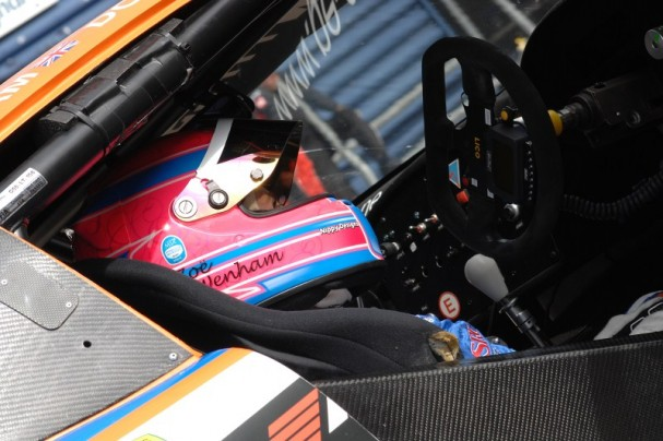 Zoe waits to go out for another British GT session (Photo Credit: Chris Gurton Photography)
