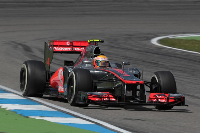 After a return to form in Germany, McLaren sent out a warning to the rest of the Formula One field by dominating first practice for the Hungarian Grand Prix in Budapest