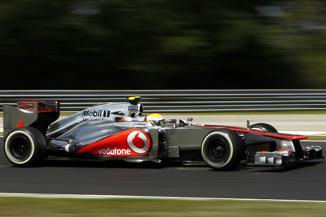 Lewis Hamilton completed a Friday Practice double after topping a second session which was closely fought between McLaren, Lotus and Ferrari