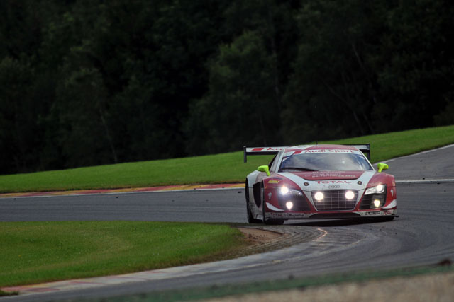 Despite a puncture Piccini continues to lead for Team Phoenix in the #16 (Photo Credit: Dan Bathie/l'endurance)