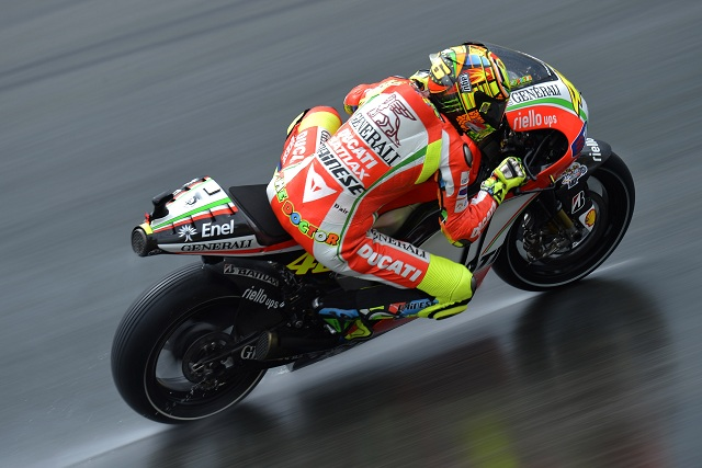 Valentino Rossi - Photo Credit: Ducati