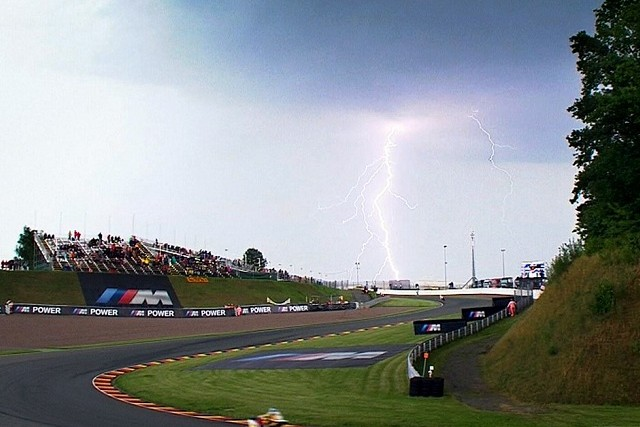 Some nice weather for qualifying...