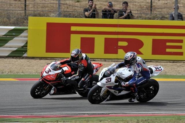 Max Biaggi & Marco Melandri - Photo Credit: WorldSBK.com
