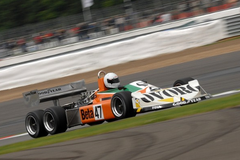 The six wheeled March 2-4-0 will face the equally hexi-cycled Tyrrell P34 (Photo Credit: Chris Gurton Photography)