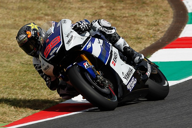 Jorge Lorenzo had very few complaints after the first day's running at Mugello as he topped the timesheets in both practice sessions