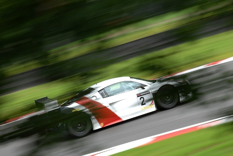 John Martin piloted Nigel Mustill's Audi to fourth in its first race (Photo Credit: Chris Gurton Photography)