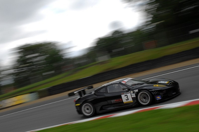 Andy Schulz took pole in the Ferrari, though believes there is yet more to come (Photo Credit: Chris Gurton Photography)