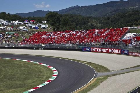 The Ducati Grandstand - Photo Credit: Ducati