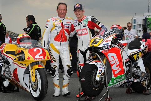 Helmut & Stefan Bradl - Photo Credit: LCR Honda