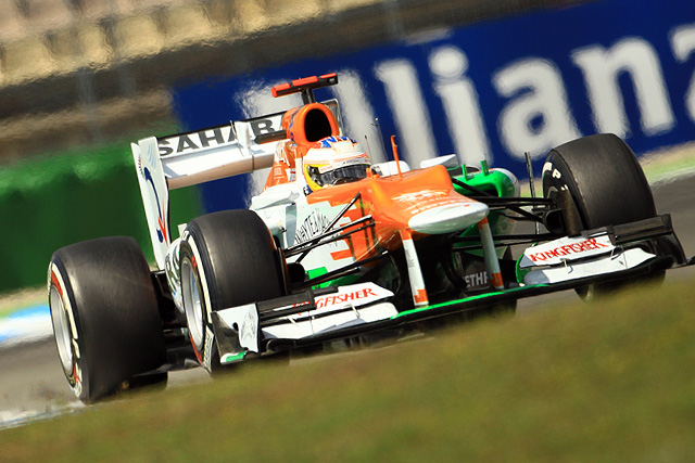 Force India came away from Hockenheim having scored just two points. It was a disappointing day, considering how rivals Sauber finished with both cars in the top six.