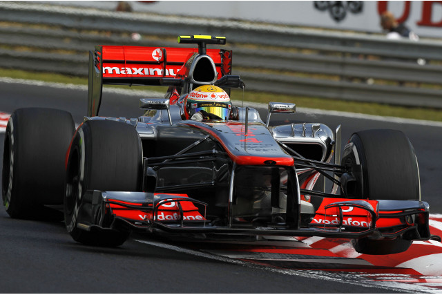 Hamilton Hungary 27Jul12