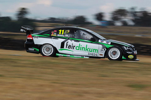 Franck Montagny will team up with Karl Reindler in the #11 Fair Dinkum Sheds Racing entry Photo credit: Kelly Racing