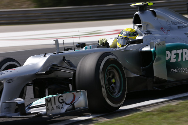 ​Nico Rosberg​ salavaged a single point for ​Mercedes​ on what was a disappointing weekend for the German team that were off the pace in Hungary.