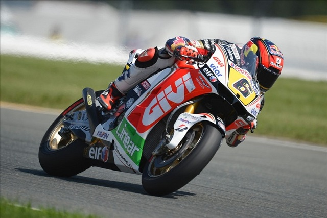 Stefan Bradl was satisfied at the end of Friday Practice at the German Grand Prix as he kicked off his first ever home race in the premier class