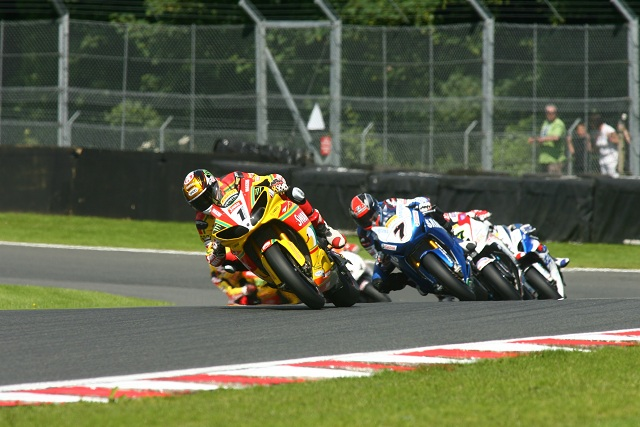 Tommy Hill leading race one at Oulton Park - Photo Credit: Motorsport Vision