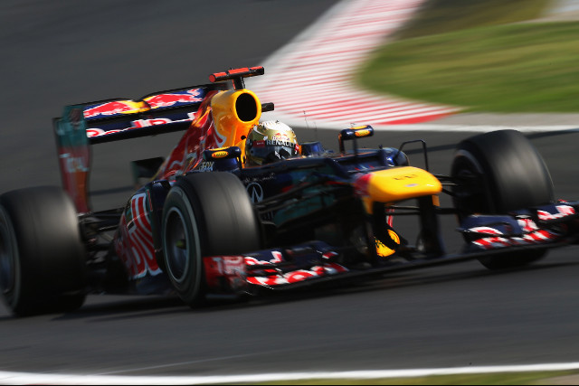 ​Both ​Red Bull​ drivers endured a long, tough grand prix in Hungary this afternoon: ​Sebastian Vettel​ found himself stuck behind ​Jenson Button​, unable to show the true race pace of his RB8, and ​Mark Webber​ lost places through trying a three-stop strategy.