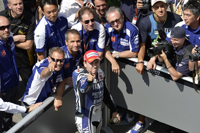 Jorge Lorenzo put the seal on a near-perfect weekend for Yamaha with victory at Mugello