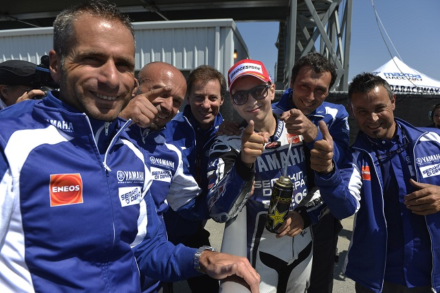 Jorge Lorenzo admitted he needed to extract every last thousandth of a second out of his Yamaha YZR-M1 to claim pole position at Laguna Seca