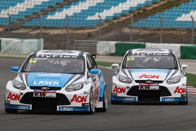 James Nash and Tom Chilton - Photo Credit: WTCC Media