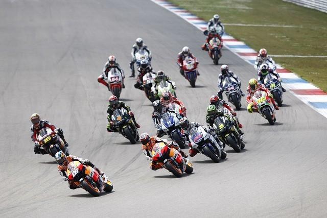 The start of the Dutch TT - Photo Credit: Repsol Honda