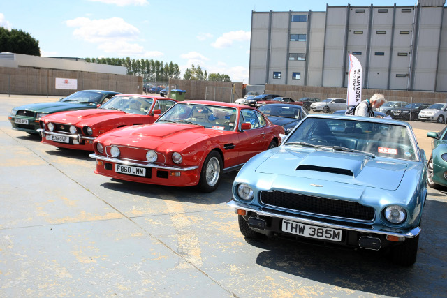 Every part of the Silverstone infield is packed with car club exhibitors (Photo Credit: Jakob Ebrey Photography)