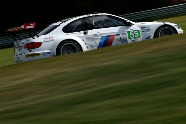 Joey Hand and Dirk Muller were the best BMW in fifth place in GT (Photo Credit: BMW AG)