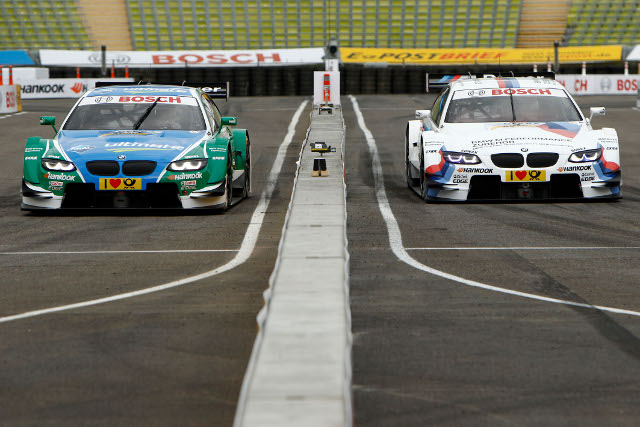 Augusto Farfus and Martin Tomczyk were both knocked out in the quarter finals (Photo Credit: DTM Media)
