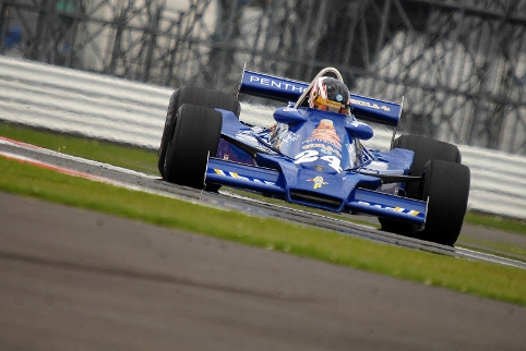 Michael Lyons dominated the race, but a problem terminated his drive early (Photo Credit: Chris Gurton Photography)
