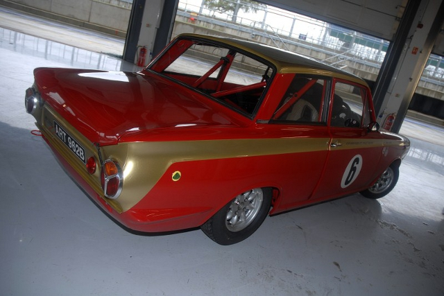 Mat Jackson will share the Alan Mann Racing liveried Cortina with Henry Mann (Photo Credit: Chris Gurton Photography)
