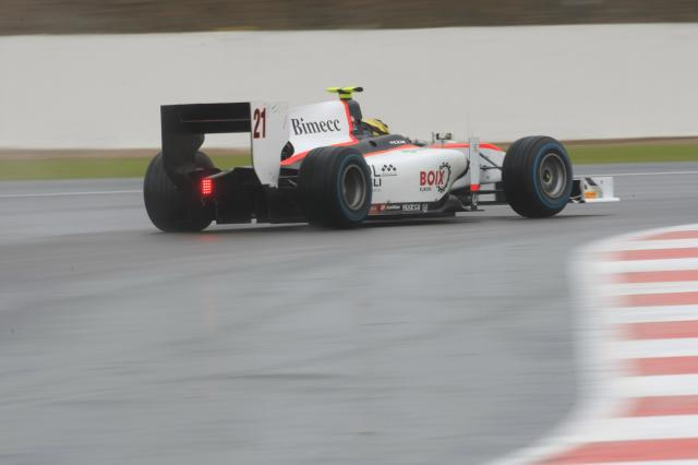 Daniel De Jong - Photo Credit: GP2 Media Service