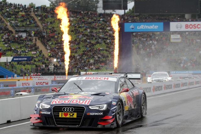 Ekstrom and Audi took th honours in BMW's back yard (Photo Credit: DTM Media)