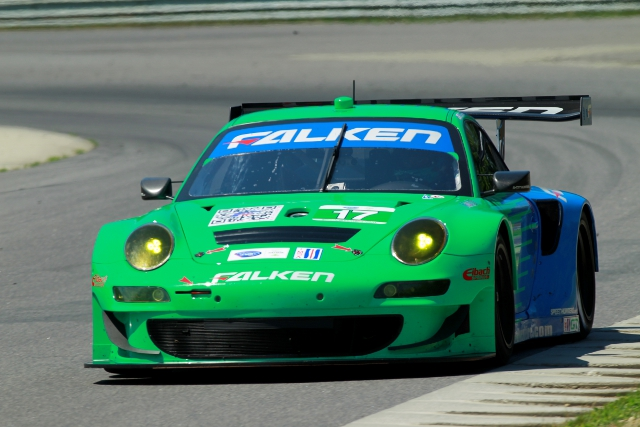 Team Falken Tire unexpectedly struggled on Lime Rock weekend (Photo Credit: Porsche AG)