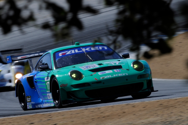 Sellers returns to action for Team Falker Tire (Photo Credit: Porsche AG)