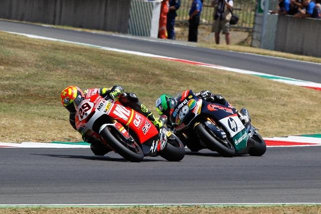 Andrea Iannone and Pol Espargaro - Photo Credit: MotoGP.com