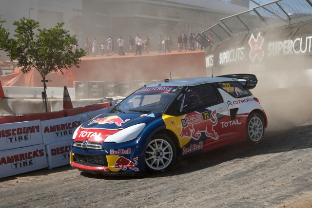 Sebastien Loeb dominated the final to takes X Games Gold (Photo Credit: Christian Pondella/ESPN Images)
