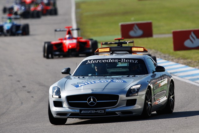 Safety car - Photo Credit: Daniel Kalisz/GP3 Media Service