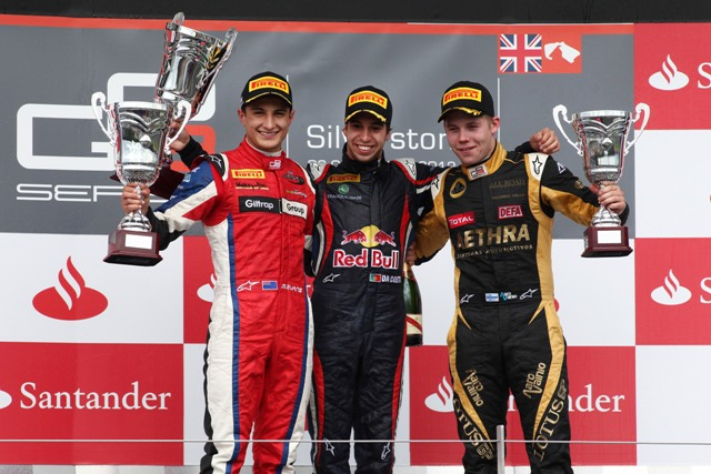 Mitch Evans, Antonio Felix Da Costa, Aaro Vainio - Photo Credit: Daniel Kalisz/GP3 Media Service