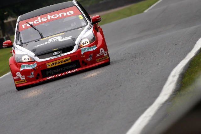 "Aron Smith blamed contact ""from snow ploughs"" for accidents at Oulton Park (Photo Credit: btcc.net)"