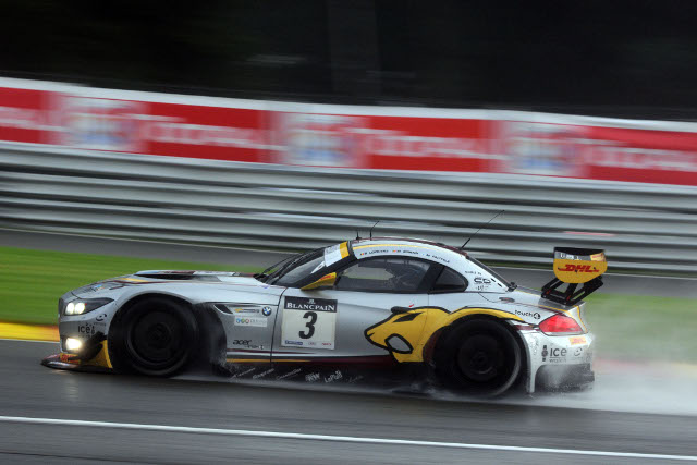 A last minute move gave Marc VDS the points after six hours (Photo Credit: Jake Yorath/l'endurance)