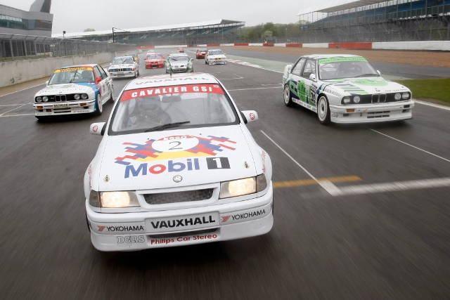 Vauxhalls, BMWs and Jaguars will join Ford on the grid (Photo Credit: Silverstone Classic)