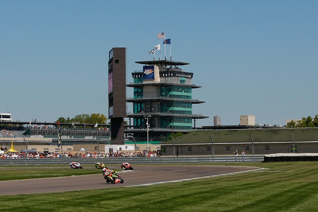 The Indianapolis Motor Speedway provides a spectacular setting for MotoGP action - Photo Credit: MotoGP.com