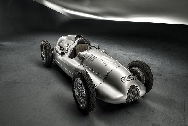 The 1939 Auto Union Type D Twin-Supercharger racing car - Photo Credit: Audi