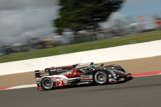 Allan McNish was the star of the final practice session (Photo Credit: Chris Gurton Photography)