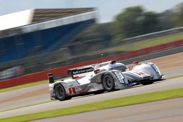Treluyer kept up the Audi's hybrid's unbeaten qualifying record (Photo Credit: Chris Gurton Photography)