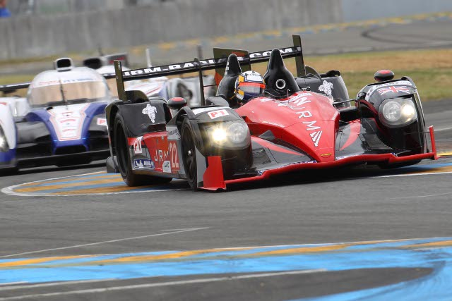 JRM's trio of drivers, including Le Mans debutant Karun Chandhok, finished sixth at Le Mans (Photo Credit: Jakob Ebrey)