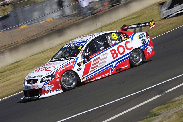 Stephane Sarrazin will team up with Jason Bright in the #8 Team BOC entry Photo credit: Brad Jones Racing