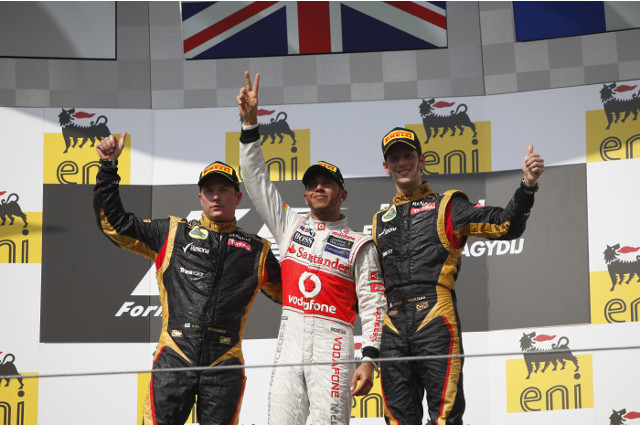 Lewis Hamilton of McLaren took victory in the Hungarian Grand Prix, finishing 1 second ahead of Kimi Raikkonen