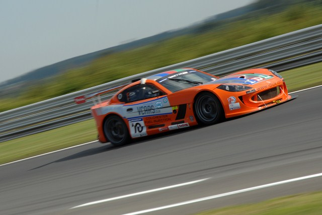 Tom Sharp took another step towards the 2012 Michelin Ginetta GT Supercup title after securing three top four finishes in the triple-header at Snetterton, including his ten win of the...