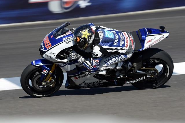 Jorge Lorenzo - Photo Credit: Yamaha