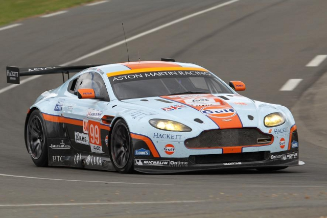 Jonny Adam will share one of two GTE Am Vantages entered this weekend (Photo Credit: Aston Martin)